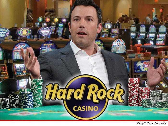 Ben Affleck Hard Rock Casino